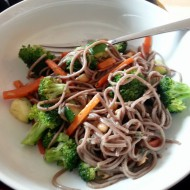 Sesame Lime Soba Noodles with Vegetables