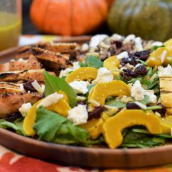 Harvest Salad with Delicata Squash