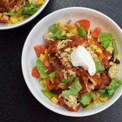 Chipotle-Style Burrito Bowls
