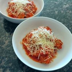 Spaghetti Squash & Turkey Meatballs